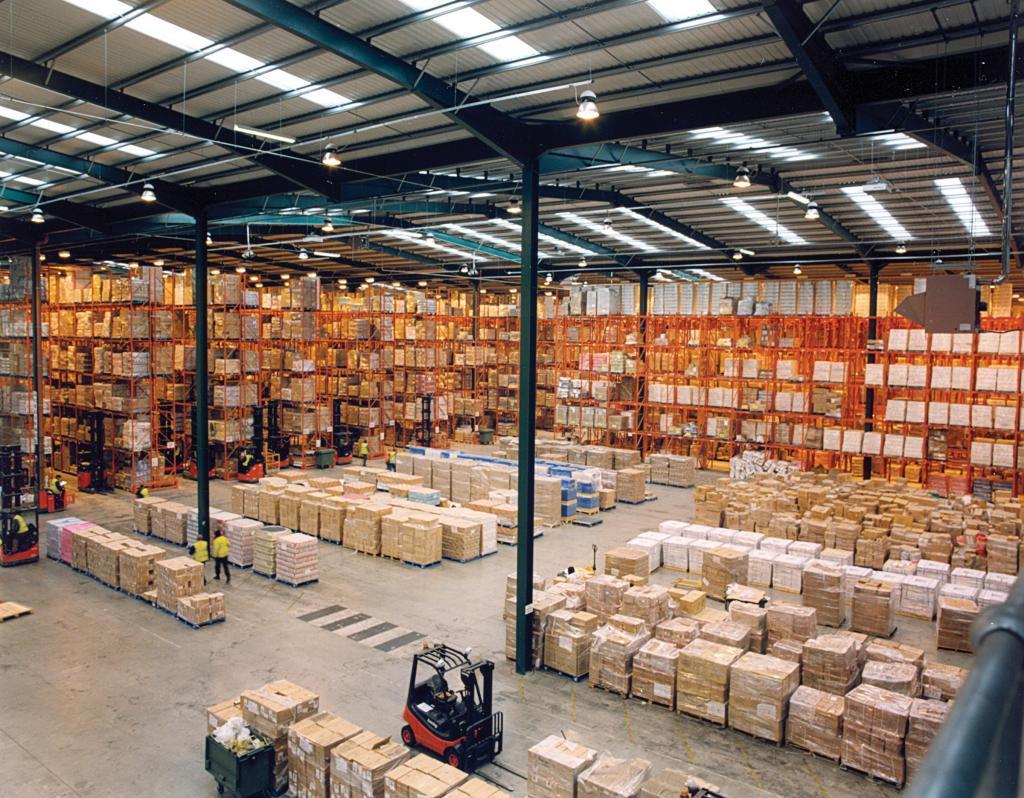 advanced warehouse d365