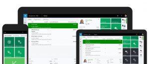dynamics 365 mobile app features
