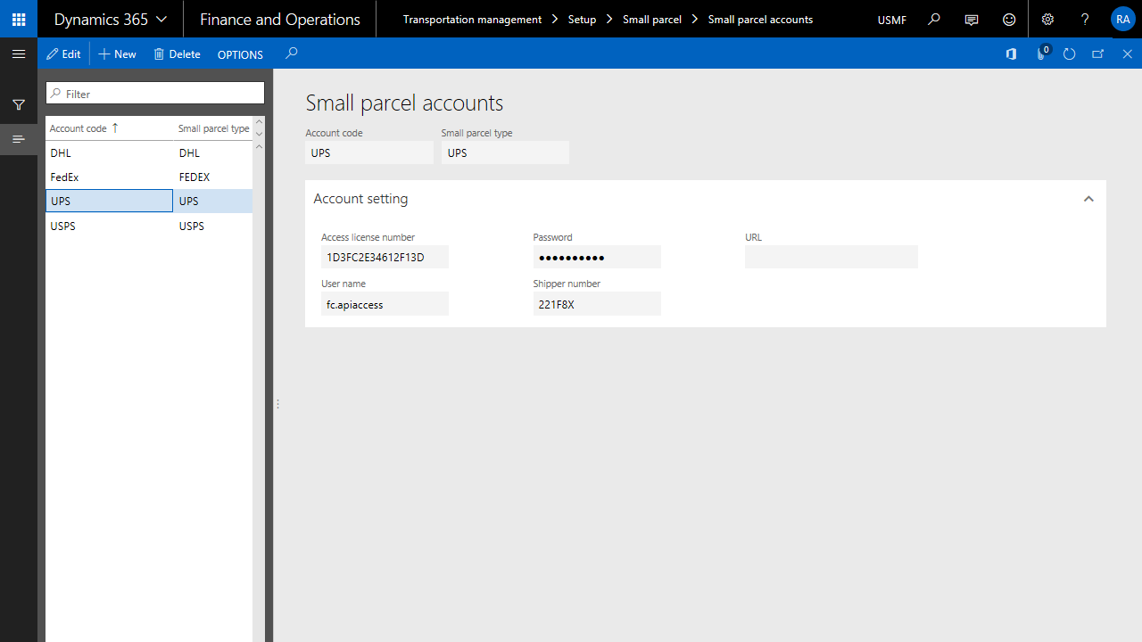 Dynamics 365 shipping integration in FO and Field service
