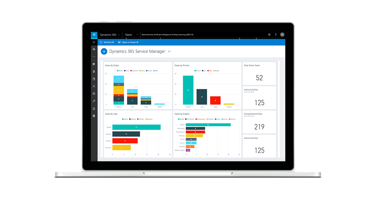 Deliver a Seamless Customer Service with Dynamics 365
