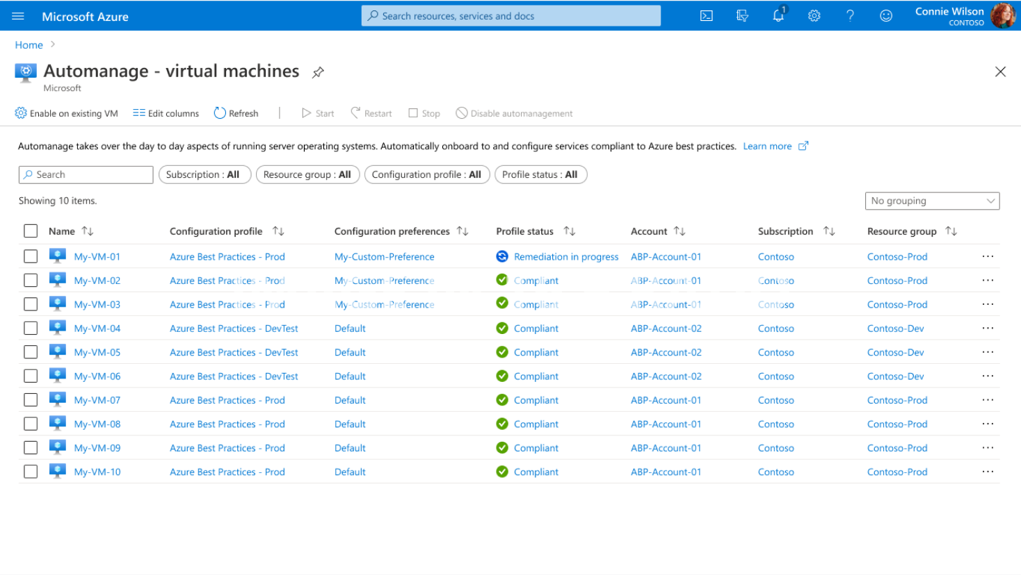 Azure Automanage: A new step in Azure services