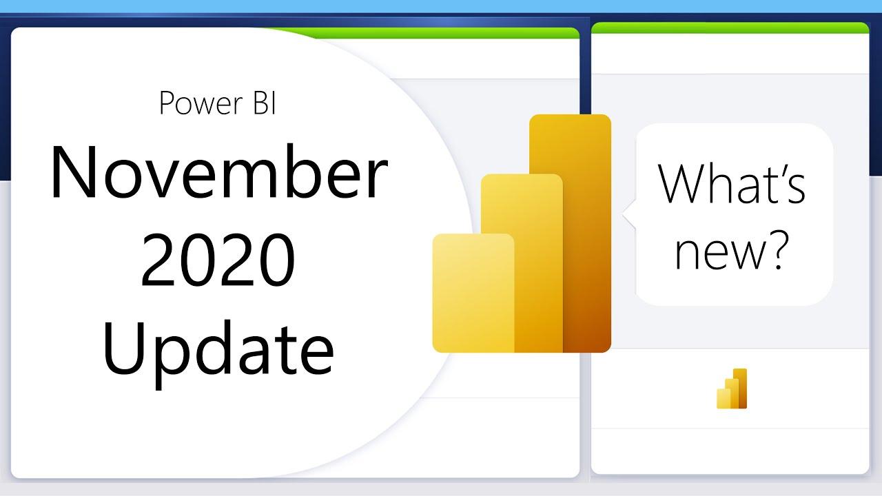 Unpacking: Power BI November 2020 Feature