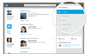 LinkedIn sales insight