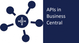 API in business central.