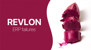 Revlon ERP failure