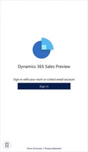 d365 sales app