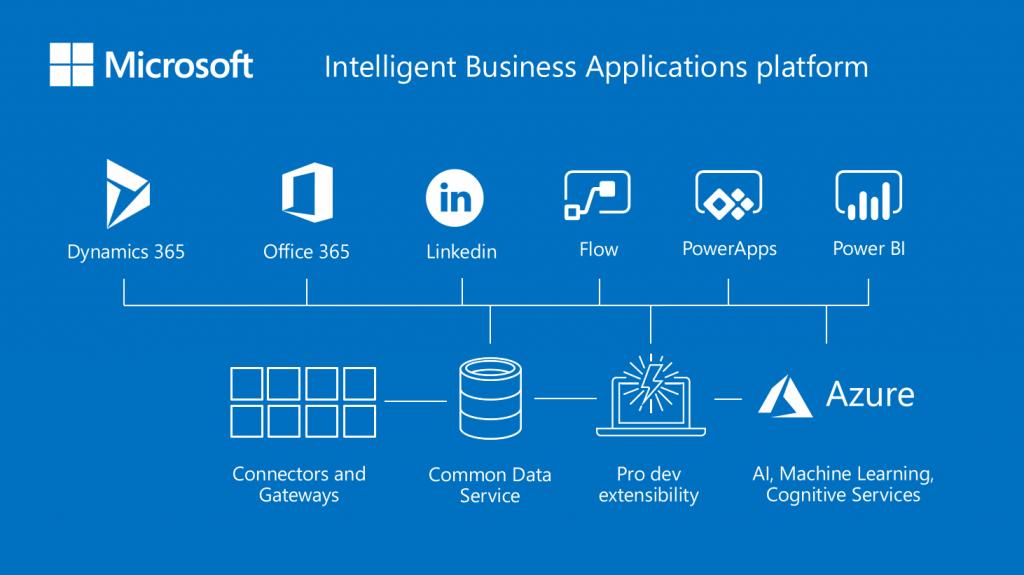 Microsoft Intelligent Business Application Platform